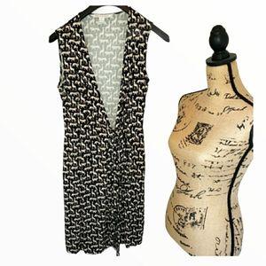 Diane Von Furstenberg Tie Wrap Dress
